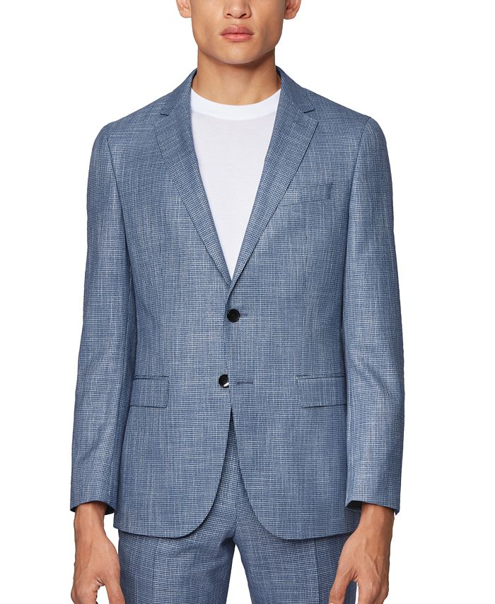 Hugo Boss - Men's Novan6/Ben2 Slim-Fit Suit