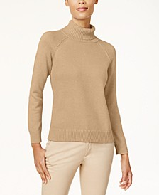 Cotton Turtleneck Sweater, Created for Macy's