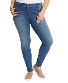 Women's Plus Size Midrise Skinny Jeans