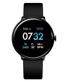 Men's Sport's iTouch Black Silicone Strap Smart Watch 43.2mm