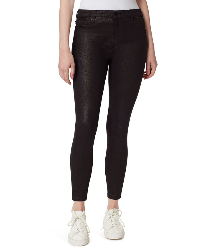 WILLIAM RAST - High-Rise Skinny Ankle Sparkle Jeans