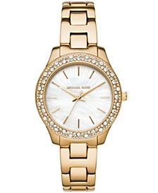 Women's Liliane Gold-Tone Stainless Steel Bracelet Watch 36mm