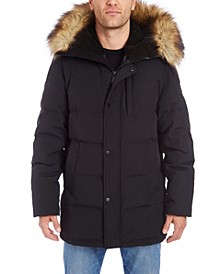 Men's Down Filled Parka Jacket