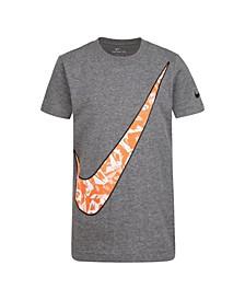 Toddler Boys Swoosh Logo Graphic T-Shirt