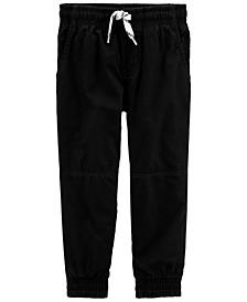 Toddler Boy Pull-On Poplin Pants
