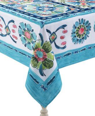 Boho Plaza 70x144 Tablecloth