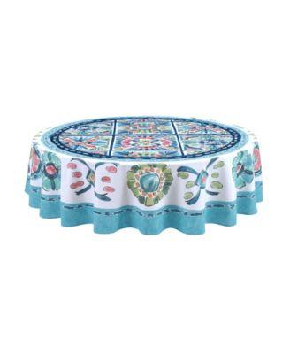 Boho Plaza 70 Round Tablecloth
