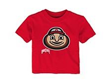 Ohio State Buckeyes Infant Headshot T-Shirt
