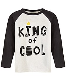 Baby Boys King Of Cool T-Shirt, Created for Macy's
