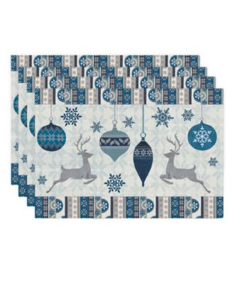 Simply Winter Placemat - Set of 4