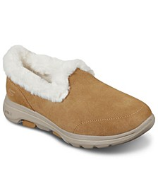 Women's GOwalk 5 - Toasty Faux Fur Walking Sneakers from Finish Line