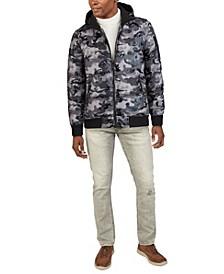 Men's Camo Shine Bomber Jacket