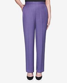 Women's Wisteria Lane Melange Proportioned Medium Pant