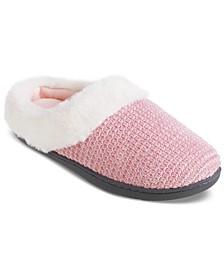 Women's Chenille Ann Hoodback Slippers