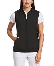Fleece Perforated Fleece Vest