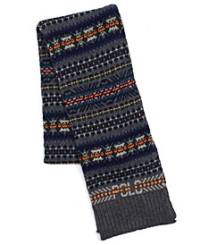 Men's Fair Isle Polo Scarf