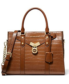Nouveau Hamilton Leather Satchel