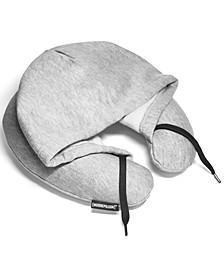 Inflatable Travel Pillow With Hood