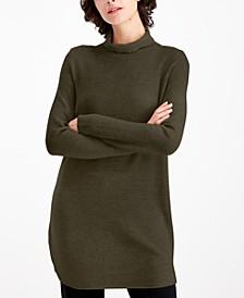 Turtleneck Tunic Sweater, Regular & Petite