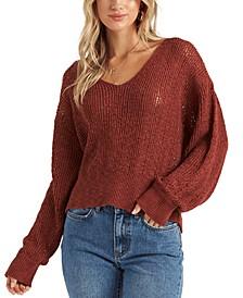 Juniors' Feel The Breeze Sweater
