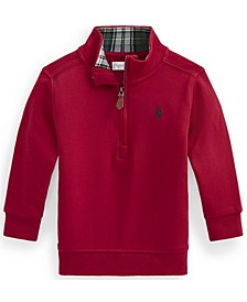 Ralph Lauren Baby Boys Cotton Interlock Pullover