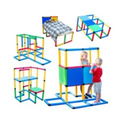 Funphix Create and Play Life Size Structures Standard Set, 199 Pieces