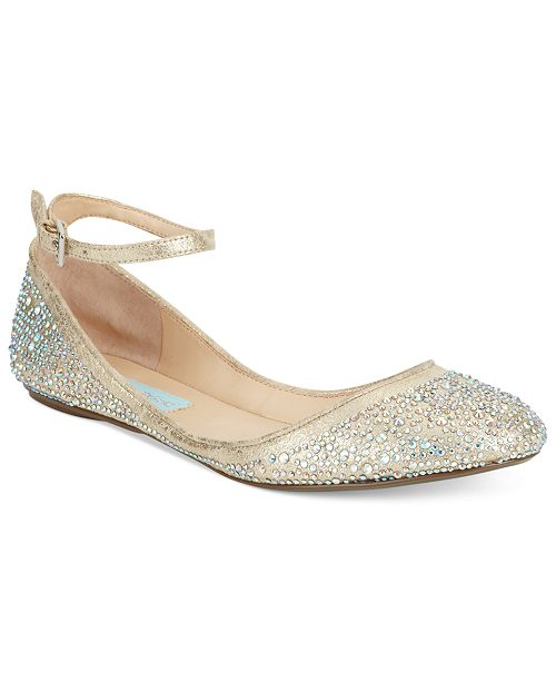 9e1e4c8b6204 Blue by Betsey Johnson Joy Evening Flats   Reviews - Flats - Shoes ...