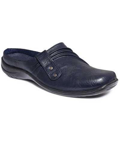 Colorful Easy Street Ease Comfort Womens Clogs Black