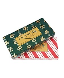 1/3 LB Holiday Combo Wrapped Milk Mint and Candy Cane Boxed Chocolates