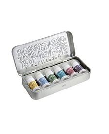Wellbeing Ritual Aromatherapy Mini Tin Whole Collection Balm, Set of 6, 1.5 gram each