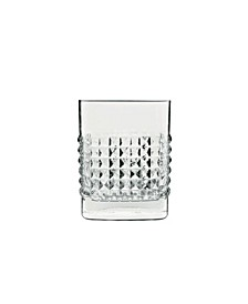 Mixology 12.75 Oz Elixer Double Old Fashion Glasses, Set of 4