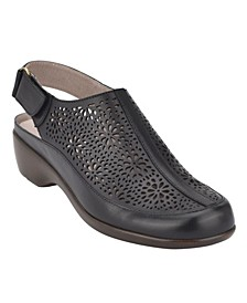 Dawn Women's Slingback Heel Clogs