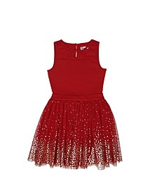 Big Girls Sleeveless Party Dress