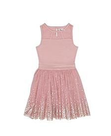 Big Girls Sleeveless Party Dress