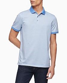 Men's Liquid Touch Geo Print Polo Shirt