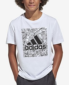 Big Boys Short Sleeve Badge of Sport T-shirt
