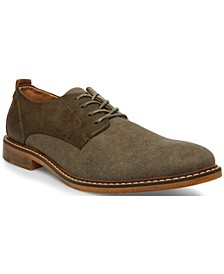 Men's Yeller Mixed-Media Casual Oxfords