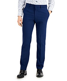 Men's Techni-Cole Blue Suit Separate Slim-Fit Pants