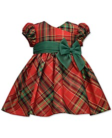 Baby Girls Taffeta Plaid Party Dress
