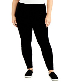 Plus Size Ankle Leggings
