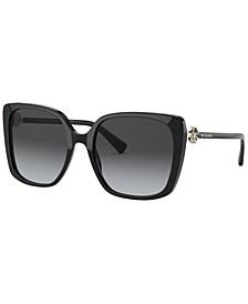 Women's Polarized Sunglasses, BV8225B 56
