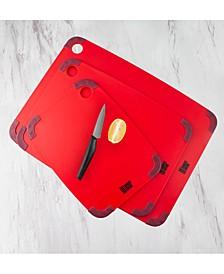by Cambridge 3-Pc. Non-Slip Cutting Board Set