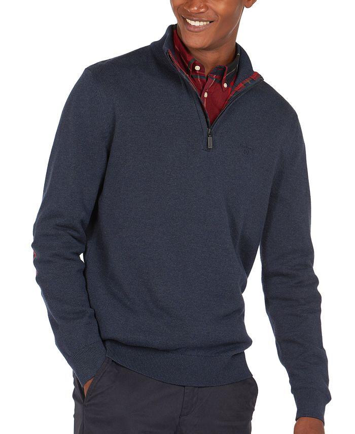 Barbour - Men's Avoch Half-Zip Cotton Sweater