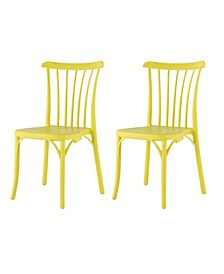 Stackable Rio Dining Chair, Set of 2