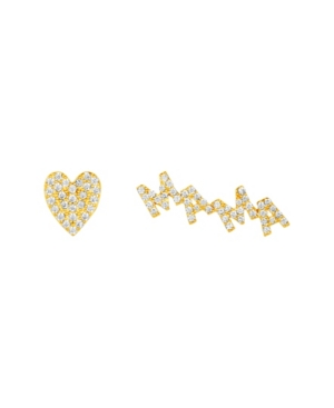 Mama Curved Earring Pair Set