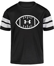 Little Boys Football Short Sleeve T-shirt