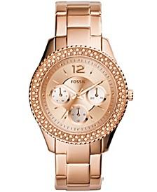 Women's Stella Rose Gold-Tone Stainless Steel Bracelet Watch 38mm