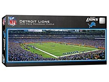 MasterPieces Puzzle Company Detroit Lions 1000-Piece Panoramic Puzzle