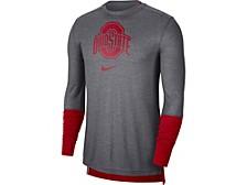 Ohio State Buckeyes Men's Breathe Player Long Sleeve Shirt
