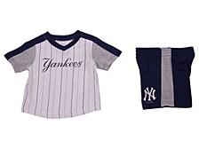 New York Yankees Toddler Lineup Short Set